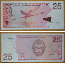 NETHERLANDS ANTILLES Banknote 25 Gulden 2011 UNC