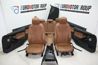bmw 3er F30 Sport Leather Seats Lederausstattung LEDER DAKOTA SATTELBRAUN