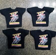 WWE Mattel Elite 4 Custom IV Four Horsemen Shirts Wrestling Figure NJPW ROHWCW