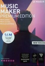 Music Maker Premium Edition from MAGIX. New Version 2018 New Boxed and Sealed