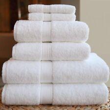 BRAND NEW 10 PIECES 100% COTTON WHITE EXTRA LARGE BATH TOWEL 75 * 154cm