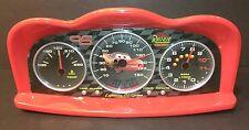 Lightning McQueen cars alarm clock Disney Pixar digital projector gauges dash