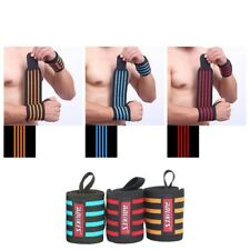 Wrist Wraps Lifting Weight Support Gym Straps Bandage Training Crossfit Fitness