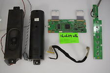 Olevia 232-S13 Small Parts Repair Kit TCON;CONTROLS;LVDS CABLE;SPEAKERS