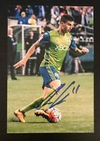AARON KOVAR MLS Seattle Sounders FC Auto Autographed Signed 4x6 Photo 3