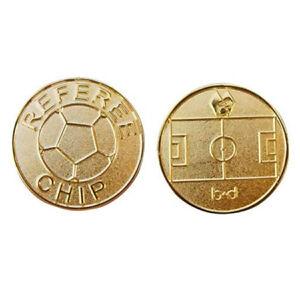 Wählmünze Referee Cup Chip gold flip coin