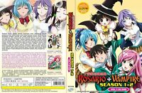 Anime Dvd English Dubbed Rosario+vampire Season 1+2(1-26end)+ With GIFT