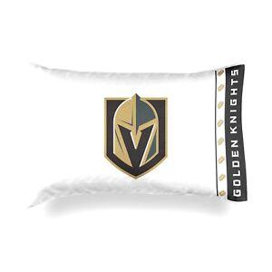 NEW Las Vegas Golden Knights Standard Knit Microfiber Pillowcase