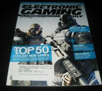 Vintage EGM Electronic Gaming Monthly Video Game Magazine NES PS 2006 issue 206