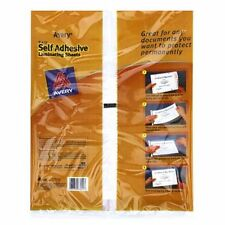 Avery Self-Adhesive Laminating Sheets, 9 x 12 Inches, Pack of 2 (73602) New