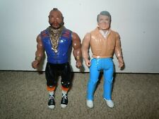 A-Team 1983 Galoob Vintage Hannibal B.A. Baracus Action Figure toy Lot Set Mr. T