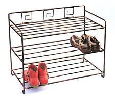 Schuhregal Art.431 Schuhablage 72 cm Schuhschrank Regal Metall Schmiedeeisen