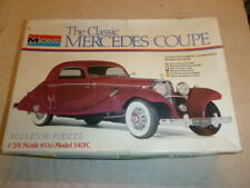 A vintage Monogram un-built plastic kit of a Mercedes Coupe.. boxed