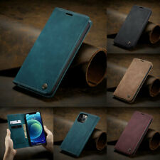 Flip Wallet Leather Stand Case Magnetic Cover Closing For iPhone 11 12 XS Max 8