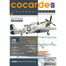 COCARDES international N°8 (revue maquettes avions) Mustang Eduard
