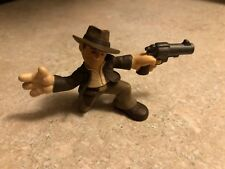 LEGO INDIANA JONES BLACK AUTOMATIC PISTOL GUN BATMAN SOLIDER MOB WEAPON WARS