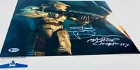 Steve Downes signed Master Chief 11X14 Metallic photo HALO BAS M62095