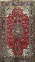 Vintage Floral Traditional Area Rug WOOL Hand-Made Oriental Classic Carpet 7x10