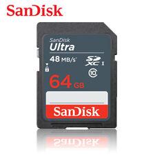 SanDisk 64GB Ultra Class 10 UHS-I SD 48MB/s SGHC / SDXC memory card