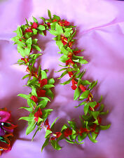 Hawaiian Lei ~ Green Vanda Orchid