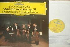 BRAHMS/PIANO QUINTET OP.34/M.POLLINI/ITALIANO QT*DGG france *NM