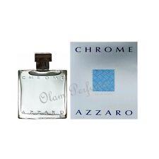 Azzaro Chrome Eau De Toilette Spray For Men 1.7oz 50ml * New in Box Sealed *