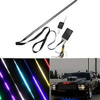 Set Super Car 48 RGB LED Light Strip Scanner knight rider Strobe Under Hood
