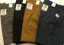"NWT Dickies Men's Duck Utility Shorts Work Regular Fit FLEX 11"" 7 Pocket Thicker"