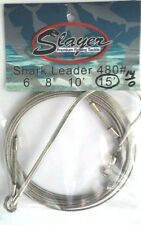 3pks SHARK RIG--SLAYER--15 foot 14/0 hook 480# EXCELLENT QUALITY-READY TO GO