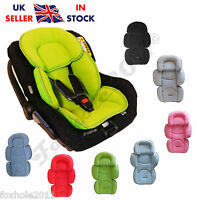 Baby Car Seat Cosy Fleece Fabric Liner Pad Head Support Rest Matress