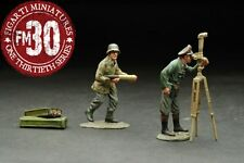 FIGARTI PEWTER WW2 GERMAN ETG-020 TRI-CAMO ARTILLERY ADD ON SET MIB
