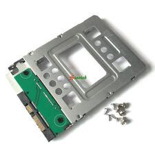 2pcs 2.5'' SSD to 3.5'' SATA HDD Hard Disk Drive Adapter Caddy Tray Cage +screws