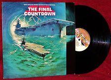 OST LP THE FINAL COUNTDOWN JOHN SCOTT 1980 CASABLANCA NM NEAR MINT