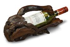 Flaschenständer Holz Weinregal Wurzelholz Flaschen Regal Wurzelholz Wein Ständer