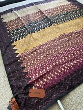 Beautiful Women's Missoni Silk Scarf Square Patterns Designer Accessories