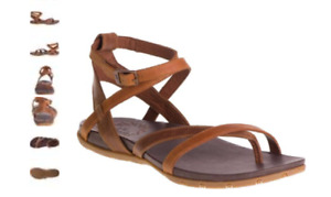 Chaco Juniper Rust Leather Ankle Strap Comfort Sandal Women's sizes 5-11 NEW!!!