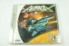 Armada Dreamcast Complete CIB Very Good Authentic Tested Rare