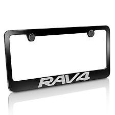 Toyota RAV4 Black License Plate Frame