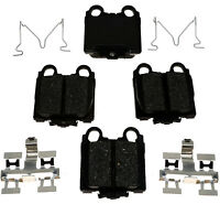 ACDelco 14D1055C Advantage Ceramic Rear Disc Brake Pad Set