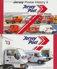 JERSEY - 2006 MARKENHEFT MH 19 - POST AUTOS - BOOKLET CARS POSTAL VEHICLES **