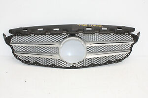 MERCEDES C CLASS W205 AMG FRONT BUMPER UPPER GRILL 2014 TO 2018