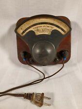 Antique 1903 Thompson Voltmeter Type P - No 197432 - 0 to 130 Volts