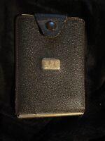 RARE Vintage Monogram Card Holder Grub 6:30 Freemason