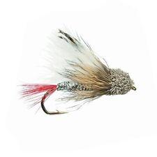 White Muddler Minnow,Premium Fishing Flies - Size 8, Sold Per 6
