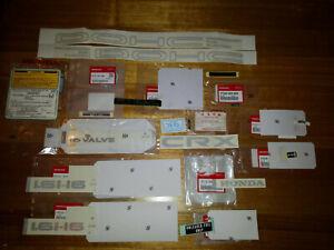 Honda CRX Sticker Decal Set 1988-91 NOS