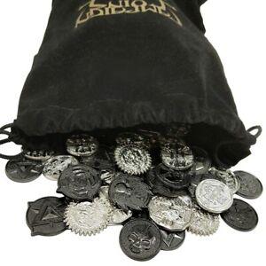 RARE TREASURE RPG COIN STARTER SET fantasy tabletop metal tokens Campaign Coins