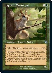 Modern Horizons 2 Squirrel Sovereign (Retro Frame) MTG MH2