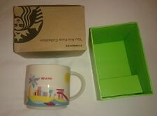 USA Miami NEW Genuine Original Starbucks You Are Here Collection Mug 迈阿密星巴克精品杯
