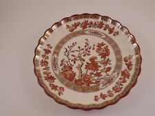 Copeland Spode Scalloped Saucer India Tree Pattern Old Backstamp