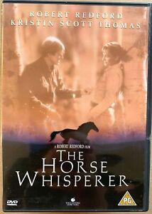The Horse Whisperer DVD 1998 Equestrian Drama Film Movie w/ Robert Redford